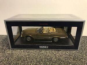 【送料無料】模型車 モデルカー スポーツカー メルセデスベンツゴールドメタリックmercedesbenz mb 300 sl 1986 gold metallic 118 norev