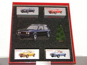 【送料無料】模型車 モデルカー スポーツカー ドミニフォルクスワーゲンゴルフミゼットcret de nol miniabox volkswagen golf minialuxe 166 cret_mb102