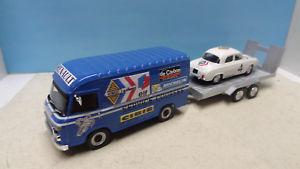 【送料無料】模型車 モデルカー スポーツカー ラリールノーassistance rallye renault saviem dauphine n4 143