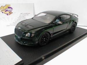 【送料無料】模型車 モデルカー スポーツカー リアルベントレーコンチネンタルalmost real 430405 bentley continental gt3r bj2015 cumbrian grnchina 143