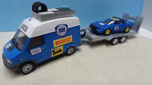 【送料無料】模型車 モデルカー スポーツカー ラリーランチアランチアassistance rallye lancia ivecolancia stratos n4 143