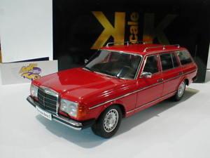 【送料無料】模型車 モデルカー スポーツカー スケールメルセデスコンビイムkkscale 180092 mercedes w123 kombi baujahr 1978 rot 118 lim ed1500 pc