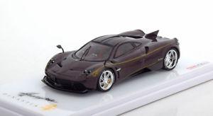 【送料無料】模型車 モデルカー スポーツカー スケールブラウンカーボン143 true scale pagani huayra dinastia chiwen 2017 browncarbon