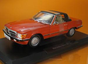 【送料無料】模型車 モデルカー スポーツカー ベンツインカレッドスケールnorev 183467 mercedes benz 300 sl m hardtop baujahr 1986 inca red scale 1 18