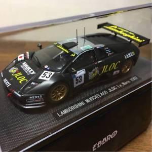 【送料無料】模型車 モデルカー スポーツカー ランボルギーニムルシエラゴ#ルマンebbro 143 lamborghini murcielago jloc 53 le mans 2007 966