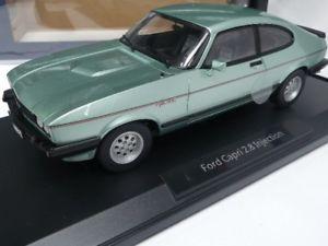 【送料無料】模型車 モデルカー スポーツカー フォードカプリインジェクションライトグリーンメタリック118 norev ford capri 28 injection 1982 hell grn metallic 182719