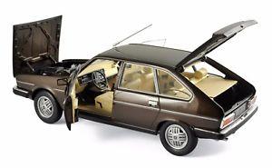 【送料無料】模型車 モデルカー スポーツカー ルノーマロンvoiture renault 30 tx 1981 marron norev 118