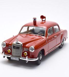 【送料無料】模型車 モデルカー スポーツカー メルセデスベンツポンツーンハンブルグkrevell 08807 mercedes benz 180 ponton oldtimer feuerwehr hamburg ovp, 118, k024