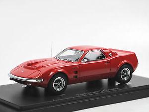 【送料無料】模型車 モデルカー スポーツカー カルトフォードムスタングマッハコンセプトアメリカautocult 06014, 1967 ford mustang mach 2 concept car usa, red 143