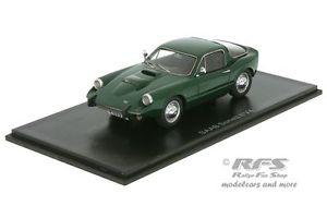 【送料無料】模型車 モデルカー スポーツカー ソネットグリーンネオsaab sonett ii v4 baujahr 1966 grn 143 neo 45527