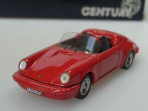 【送料無料】模型車 モデルカー スポーツカー ポルシェカレラスピードキーcentury porsche 911 carrera speedster, 1988, rot 1001 metall 143, alt