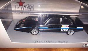 【送料無料】模型車 モデルカー スポーツカー キロマラソンシェルbizarre 143 bmw alpina c1 318i e21 1981 shell kilometer marathon b1011