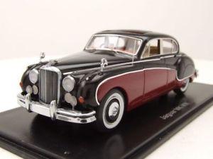 【送料無料】模型車 モデルカー スポーツカー ジャガーダークレッドブラックモデルカースケールモデルjaguar mk viii rhd 1955 dunkelrotschwarz, modellauto 143 neo scale models