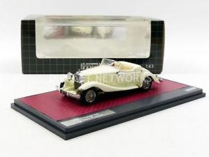 【送料無料】模型車 モデルカー スポーツカー マトリックスロードスターmatrix 143 delage d8s de villars roadster 1933 mx50407031