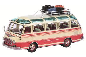 【送料無料】模型車 モデルカー スポーツカー セトラベージュレッドschuco setra s 6 beige rot 02925  143