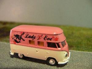 【送料無料】模型車 モデルカー スポーツカー #バスエバ187 brekina 1066 vw t1 b lady eve bus 93221
