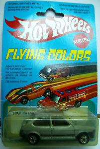 【送料無料】模型車 モデルカー スポーツカー マテルホットホイールフィアットアバルトミントオーシャンビューmattel hot wheels flying colors fiat ritmo abarth 2000 125 tc 1981 mint boxed ov