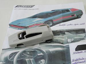 【送料無料】模型車 モデルカー スポーツカー モデルアルファロメオナバホalezan models 143 alfa romeo navajo 1976