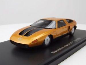 【送料無料】模型車 モデルカー スポーツカー メルセデスイードゴールドメタリックモデルカースケールモデルmercedes c111iid 1976 gold metallic, modellauto 143 neo scale models