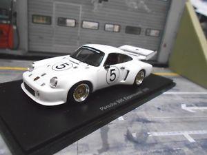 【送料無料】模型車 モデルカー スポーツカー ポルシェターボ#スパークporsche 935 turbo experimental test testcar 5 1976 rar spark 143