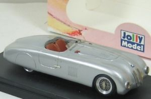 【送料無料】模型車 モデルカー スポーツカー ツーリングスパイダーアルジェントジョリーモデルbmw 328 mm touring spyder stradale argento 1941 jolly model jl567