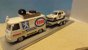 【送料無料】模型車 モデルカー スポーツカー アシスタンスプジョーassistance peugeot j7 205 gti n34 143