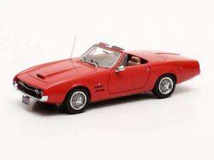 【送料無料】模型車 モデルカー スポーツカー マトリクスギアmatrix ghia 450 ss convertible 1966 red 143 mx10701032