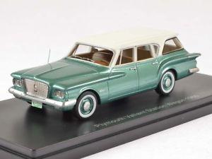 【送料無料】模型車 モデルカー スポーツカー ネオプリマスワゴングリーンneo plymouth valiant wagon 1960 green 143 47115