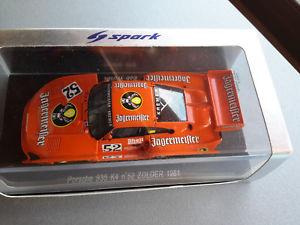 【送料無料】模型車 モデルカー スポーツカー ポルシェ#スパークporsche 935 k4 52 zolder 1981 143 spark