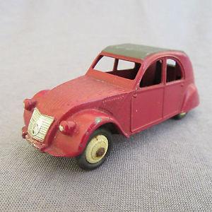 【送料無料】模型車 モデルカー スポーツカー ビンテージボルドー332e vintage dinky 24t citron 2cv bordeaux 143