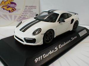 【送料無料】模型車 モデルカー スポーツカー スパークポルシェターボspark wap0209060h porsche 911 991 turbo s in wei schwarz 143
