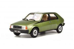【送料無料】模型車 モデルカー スポーツカー ルノーグリーンムースオットーモデルrenault 14ts green mousse ot712 118 otto models