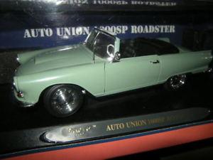 【送料無料】模型車 モデルカー スポーツカー オートユニオンロードスターグリーングリーン