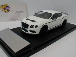 【送料無料】模型車 モデルカー スポーツカー リアルベントレーコンチネンタルalmost real 430401 bentley continental gt3r baujahr 2015 in wei 143