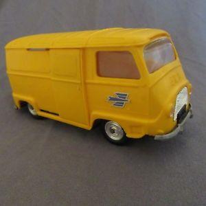 【送料無料】模型車 モデルカー スポーツカー ビンテージミゼットルノー133f vintage minialuxe renault estafette postes ptt jaune 132