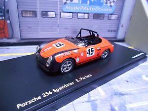 【送料無料】模型車 モデルカー スポーツカー ポルシェレースアルパインメドウズporsche 356 b speedster racing parlett 45 resin schuco pro r 143