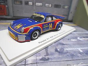 【送料無料】模型車 モデルカー スポーツカー ポルシェカレラセブリング#スパークporsche 911 carrera rs 30 winner sebring 1976 14 sunoco holbert ke spark 143