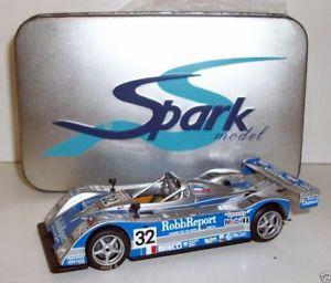 【送料無料】模型車 モデルカー スポーツカー ライリースコットスパーク#ルマンspark 143 scrs02 riley amp; scott 32 le mans 1999