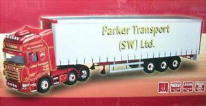 【送料無料】模型車 モデルカー スポーツカー トターパーカートランスポートソフトウェアscania r sattelzug parker transport sw ltd