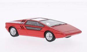 【送料無料】模型車 モデルカー スポーツカー マセラティマセラティブーメランモデルネオスケールモデルmaserati boomerang 1972 red 143 model neo scale models