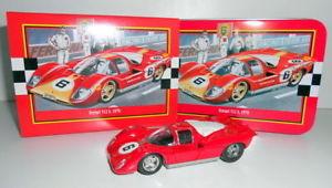 【送料無料】模型車 モデルカー スポーツカー フェラーリコレクターボックスオンsolido 143 4603 1011 ferrari 512 s 1970 cw tin collectors box