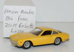【送料無料】模型車 モデルカー スポーツカー ミニチュアホワイトメタルフェラーリprecision miniatures 143 white metal 1964 ferrari 250 gt berlinetta lusso