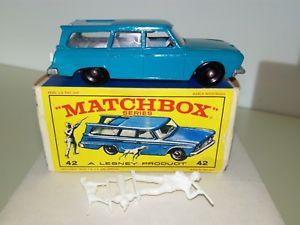 【送料無料】模型車 モデルカー スポーツカー マッチカルトステーションワゴンmatchboxlesney 175 42b studebaker station wagon 196468 in ovp e3 kult