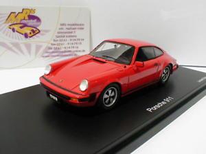 【送料無料】模型車 モデルカー スポーツカー インディアンレッドポルシェクーペschuco pror43 08912 porsche 911 coupe baujahr 1975 in indischrot 143