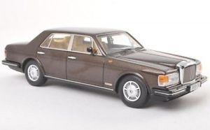 【送料無料】模型車 モデルカー スポーツカー メタリックbentley mulsanne rhd brown metallic