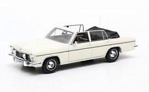【送料無料】模型車 モデルカー スポーツカー オペルディプロマットカブリオレopel diplomat 54 fissore cabriolet white 1971