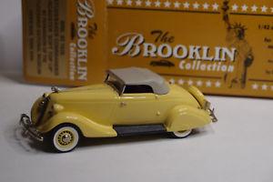 【送料無料】模型車 モデルカー スポーツカー コマンダーロードスターソフトトップアップbrooklin brk 93 1935 studebaker commander roadster soft top up 143