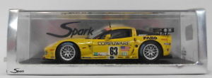 【送料無料】模型車 モデルカー スポーツカー スパークモデルスケールコルベットコルベットチーム#spark models 143 scale s0178 corvette c6r team corvette 63 6th lm 2007