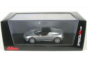 【送料無料】模型車 モデルカー スポーツカー テスラロードスターソフトトップシルバーtesla roadster softtop silver