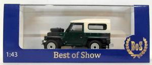 【送料無料】模型車 モデルカー スポーツカー ボスモデルスケールランドローバーbos models 143 scale resin bos43670 1982 land rover s3 lightweight green